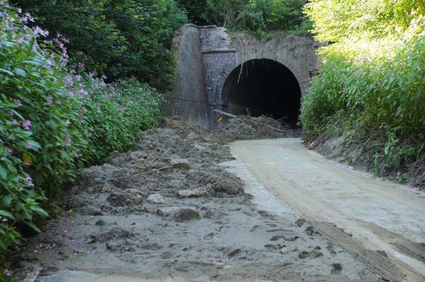 Families question delays on finding Beaminster tunnel bodies