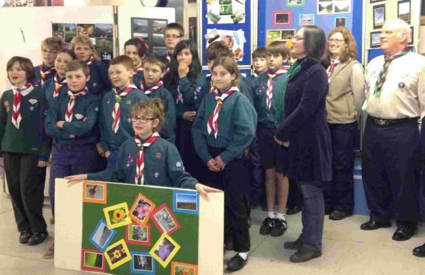 Charmouth scouts are happy snappers after expert advice