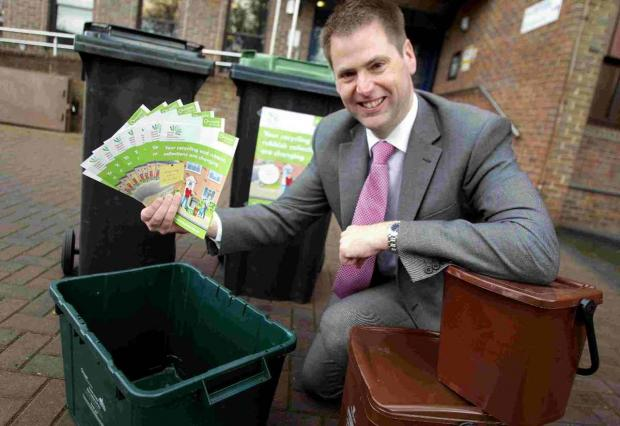 n Steve Burdis promotes a similar waste service in Bournemouth