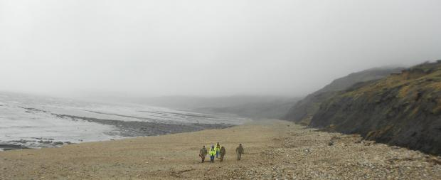 Bridport and Lyme Regis News: UPDATED :Bomb squad called to Charmouth beach