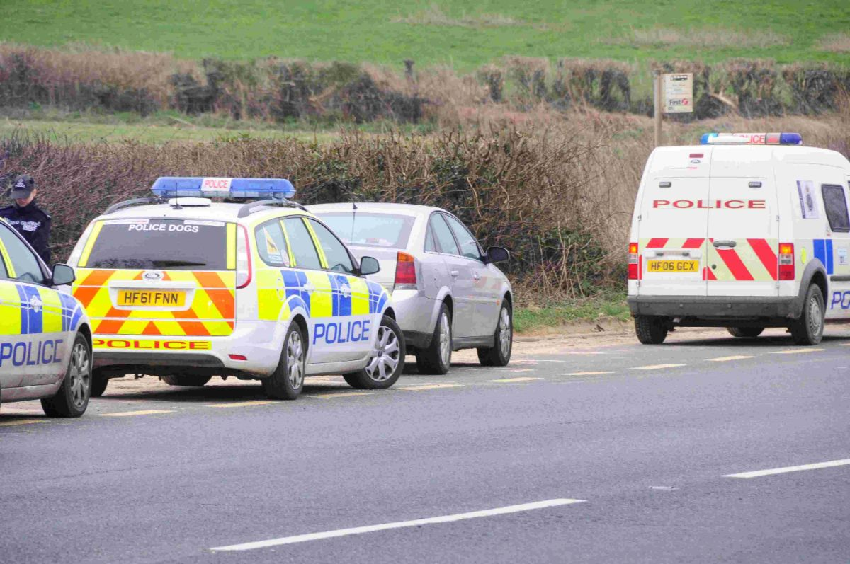 Police swoop on A35 after antiques theft in Abbotsbury