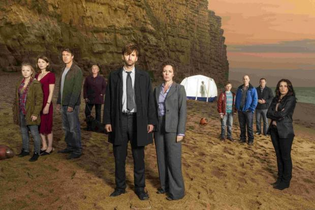 Broadchurch stars sign co