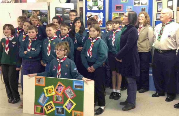 IN FOCUS: Scouts learn about photography
