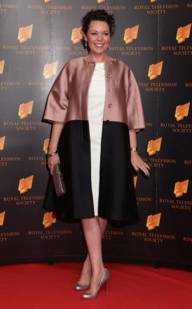 Olivia Coleman at the awards last night