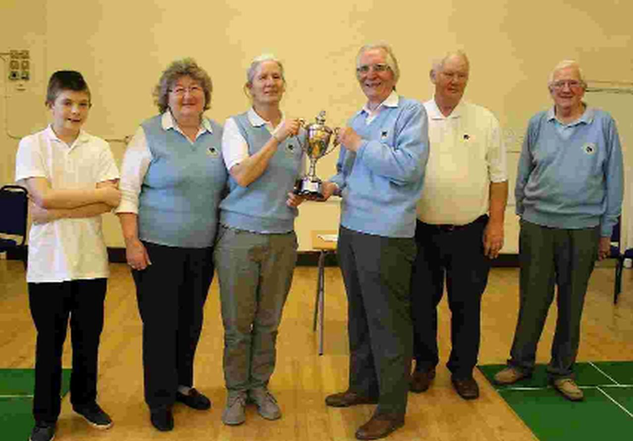 WINNERS: Beaminster bowls team