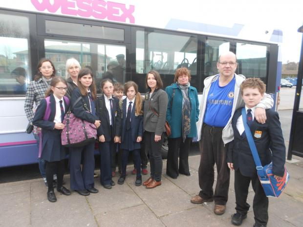 Bridport and Lyme Regis News: Bridport parents slam bus fare increase