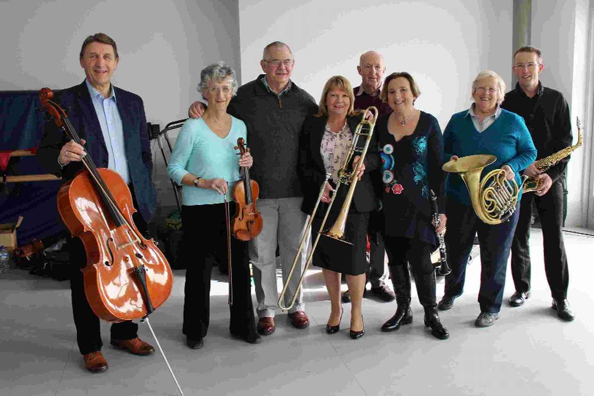 Members of the BSO launch their  Rusty musicians project