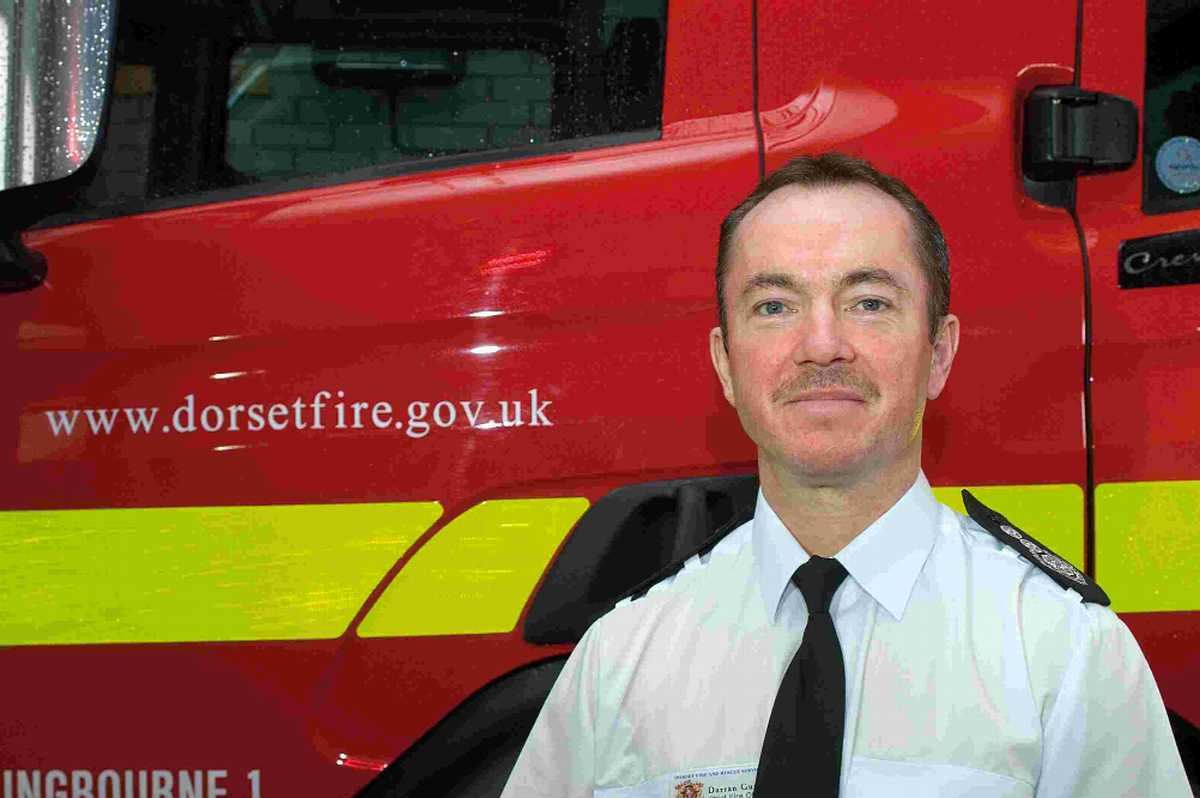 Chief Fire Officer Darran Gunter