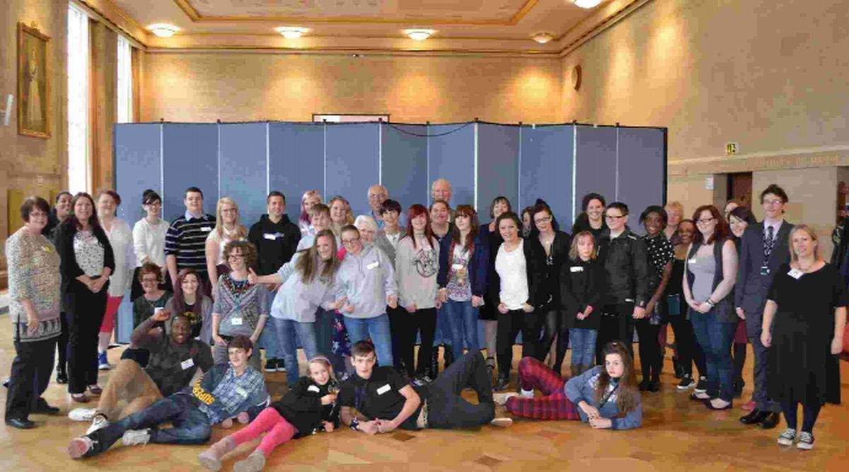 INPUT: Youngsters in care and care leavers gathered to give their ideas about improvements to services