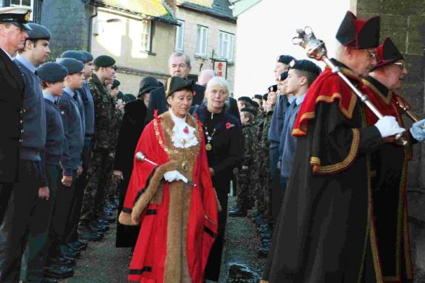 Lyme Regis Mayor set to lead the civic parade