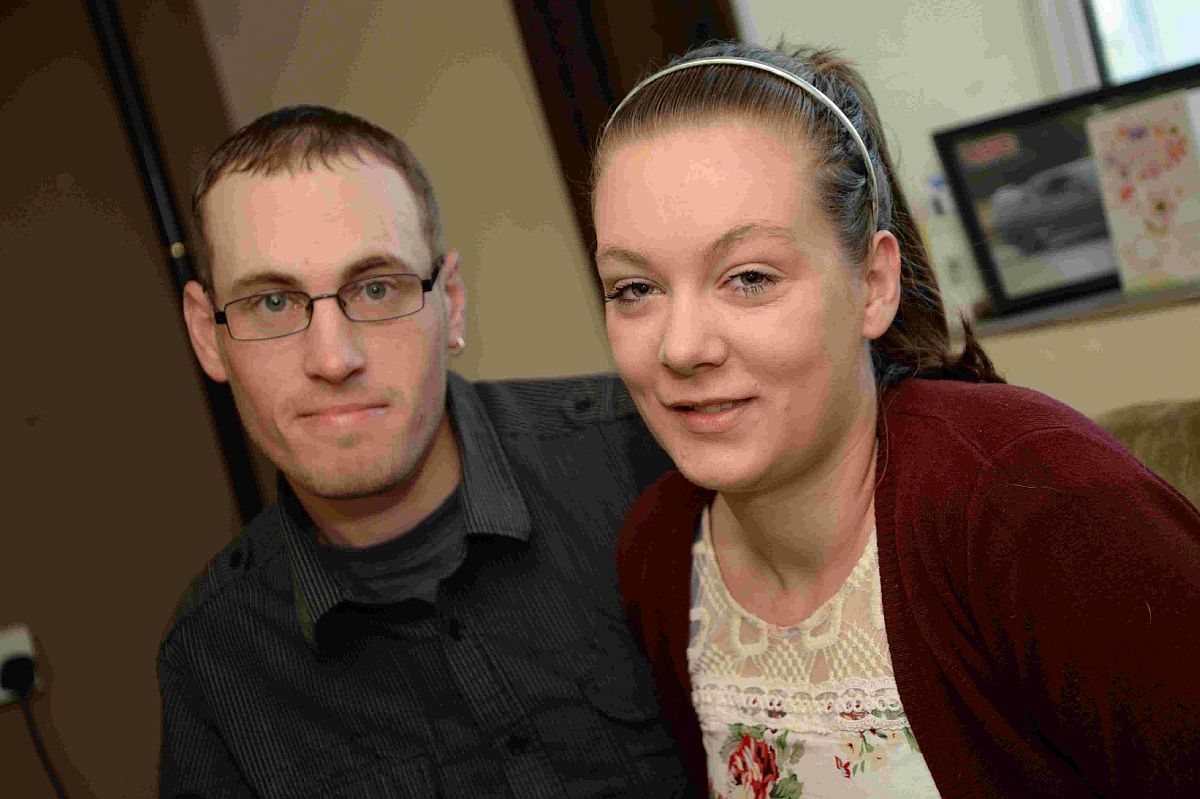 TRIBUTE: Thomas Deane and Chloe Hutchings, are grateful for the care they received during the pregnancy