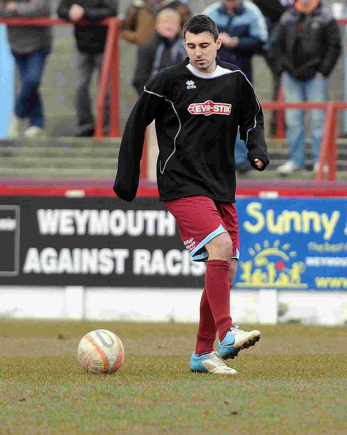 ST MARY'S RETURN: Jamie Symes