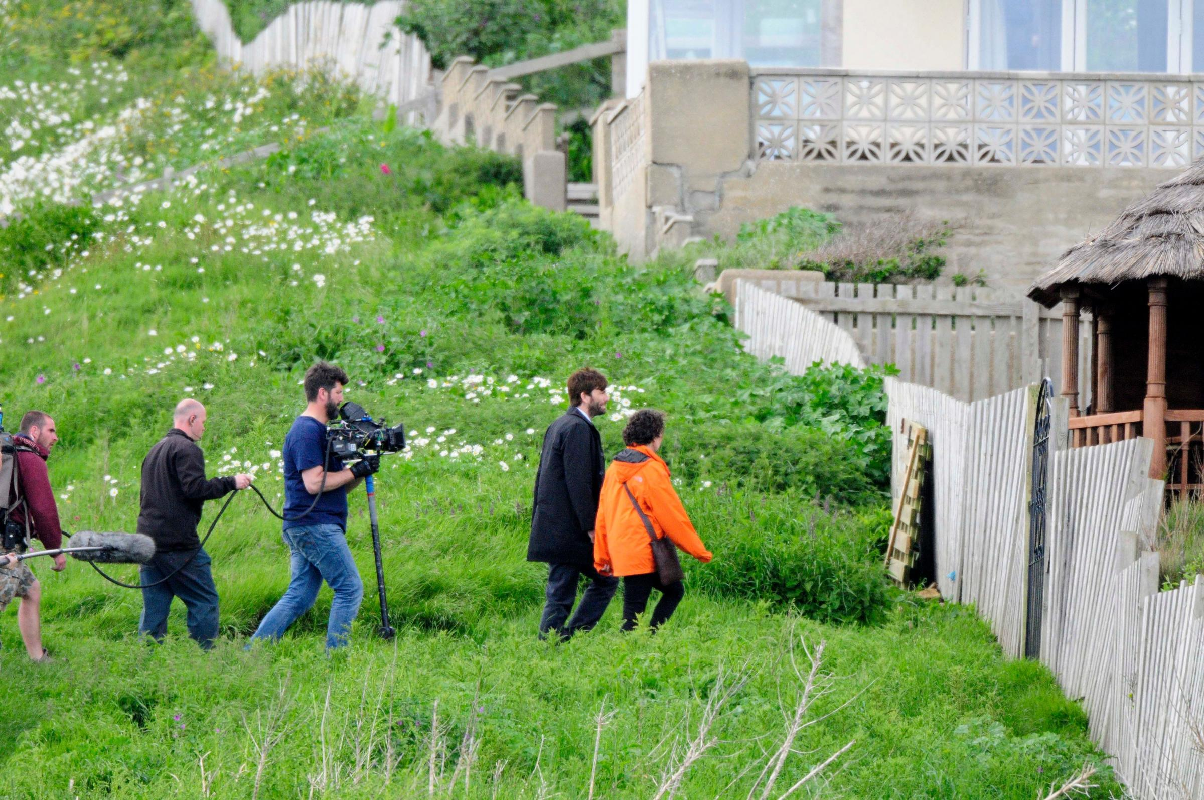 Broadchurch filming Day 2: Cameras return to West Bay