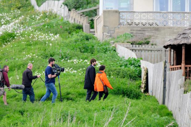 Bridport and Lyme Regis News: Filming for Broadchurch 2 begins in West Bay