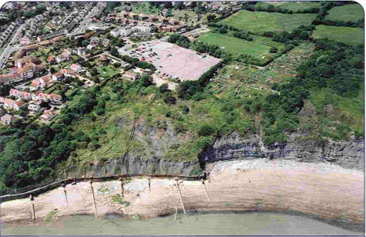 Cliff stabilisation project nears completion