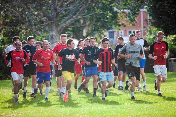 TRAINING RETURN: The Bees begin their pre-season training