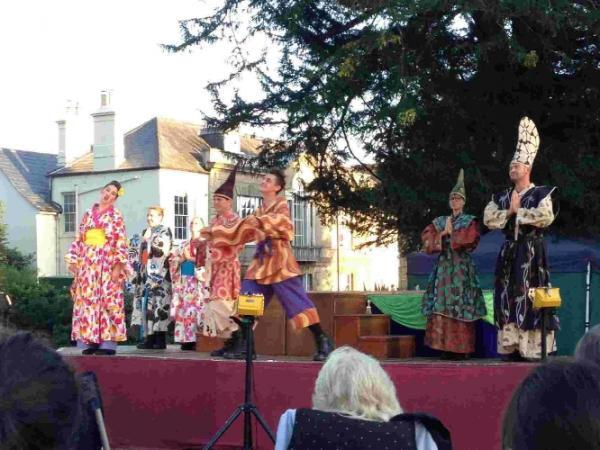 Illyria performing The Mikado last summer