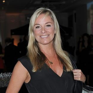 Tamzin Outhwaite is getting used to the challenges of being a single parent