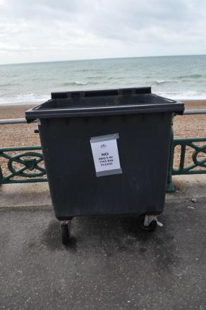 Calls are being made for more bins on West Dorset's beaches