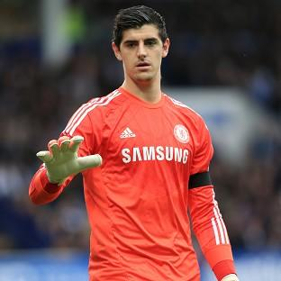 Thibaut Courtois has started all three of Chelsea's Premier League games this season