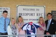 SIGN OF THE TIMES: Bridport RFC main sponsors Mystic Signs Ltd