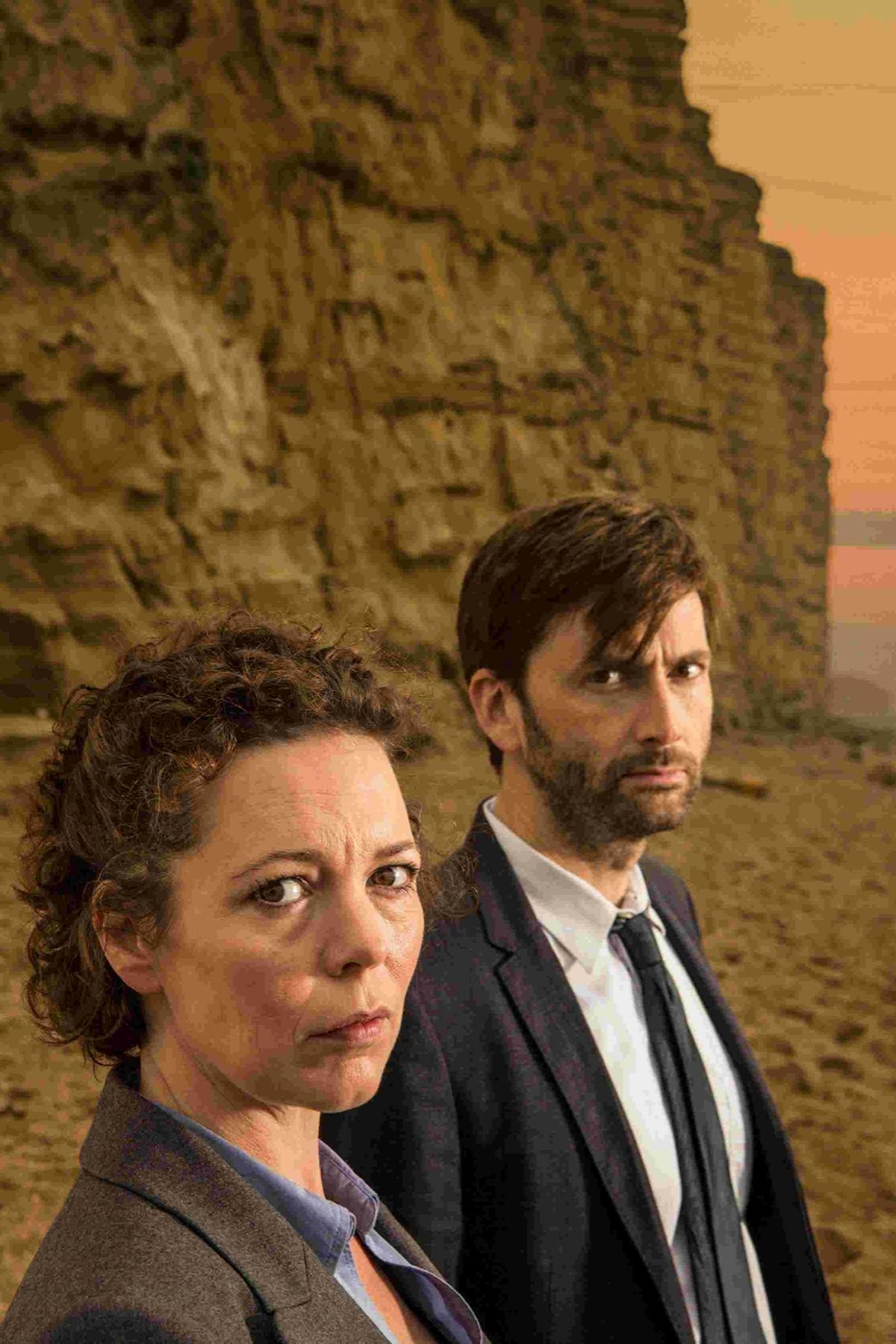 Olivia Colman and David Tennant are back in Broadchurch