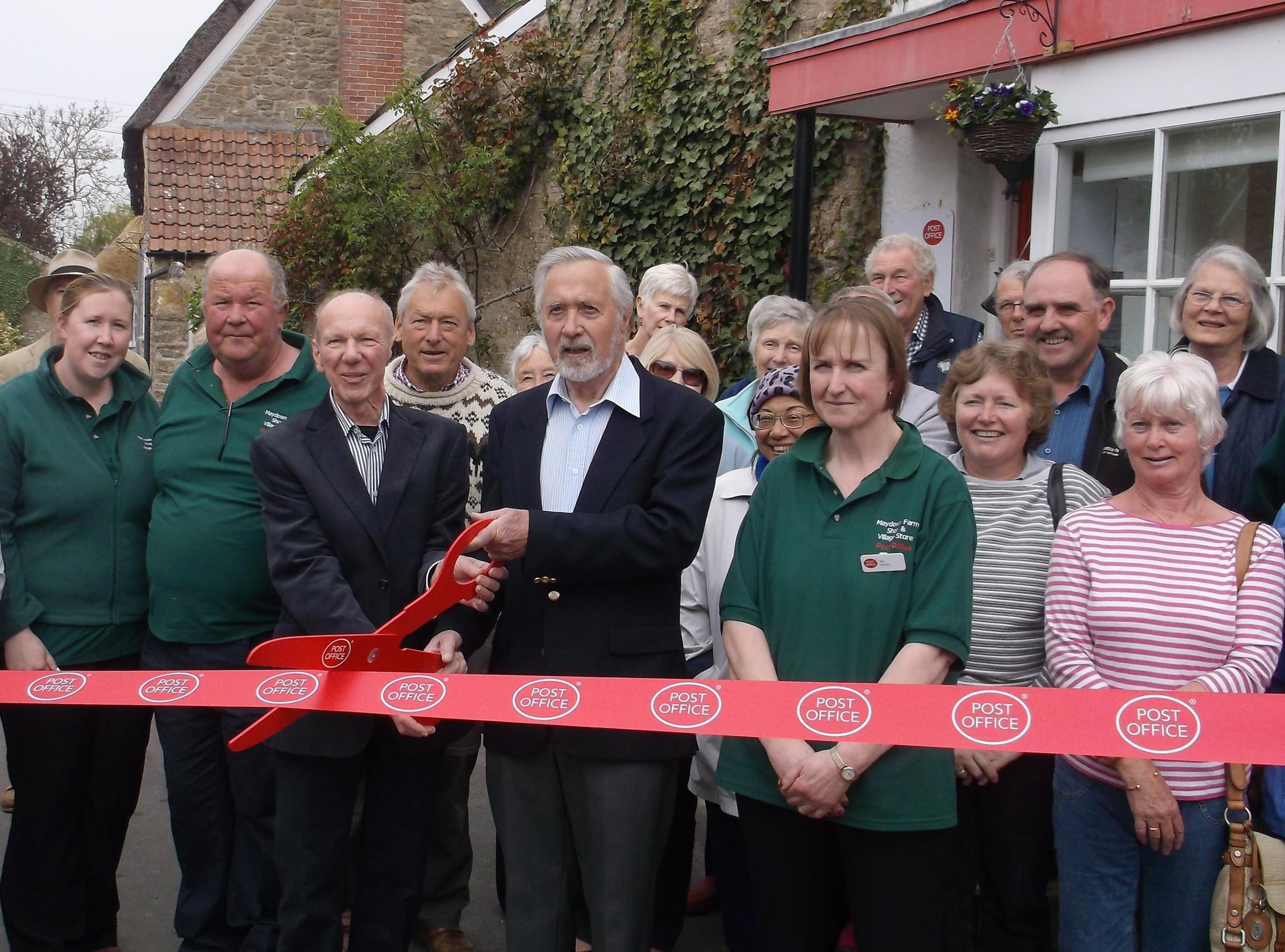Burton Bradstock Post Office celebrates re-opening