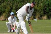 IMPRESSIVE KNOCK: Bridport captain Duane Gay