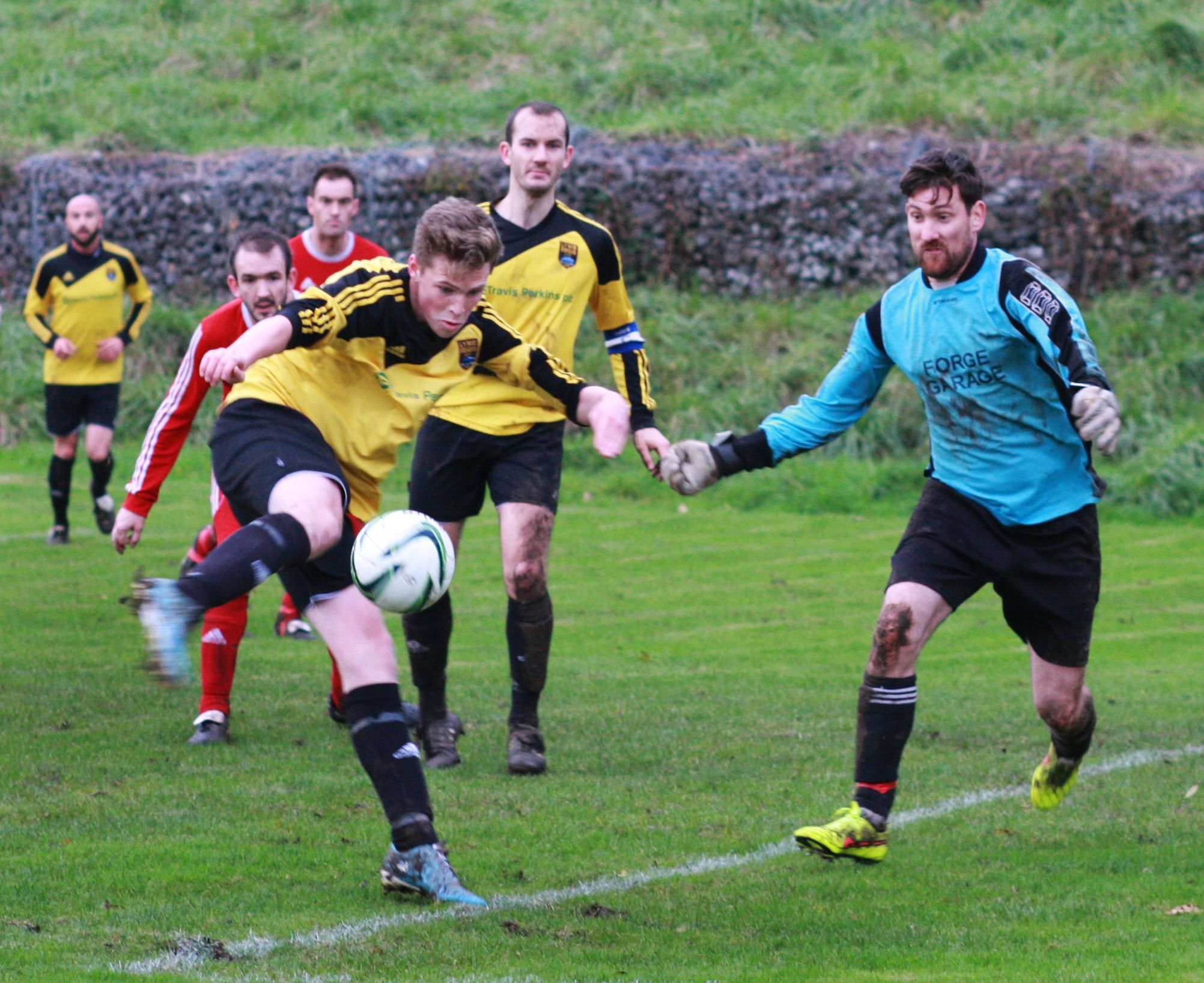 FUNDING: Lyme Regis FC have received a financial boost