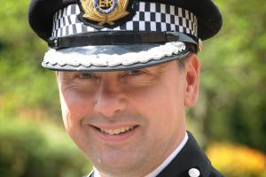 Dorset Police Deputy Chief Constable James Vaughan