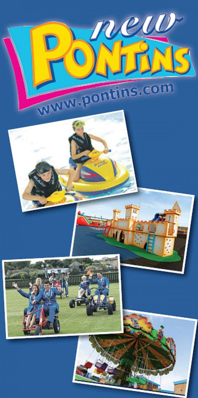 Grab a sizzling summer break at Pontins from only £59 per family