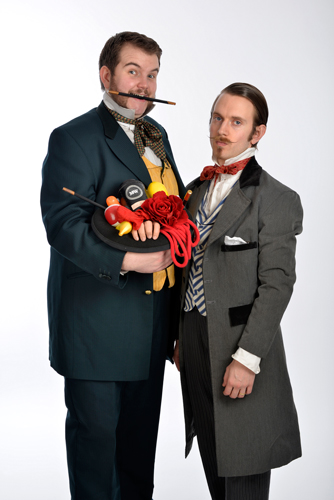 Morgan & West - Utterly Spiffing Spectacular Magic Show for Kids