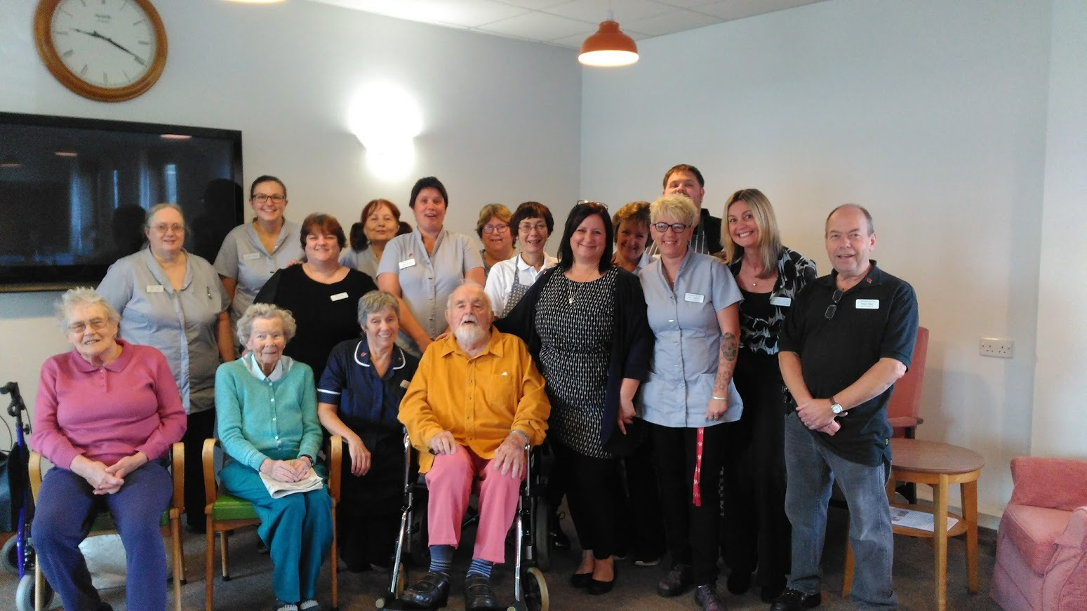 NOMINATED: Staff and residents at Harbour House