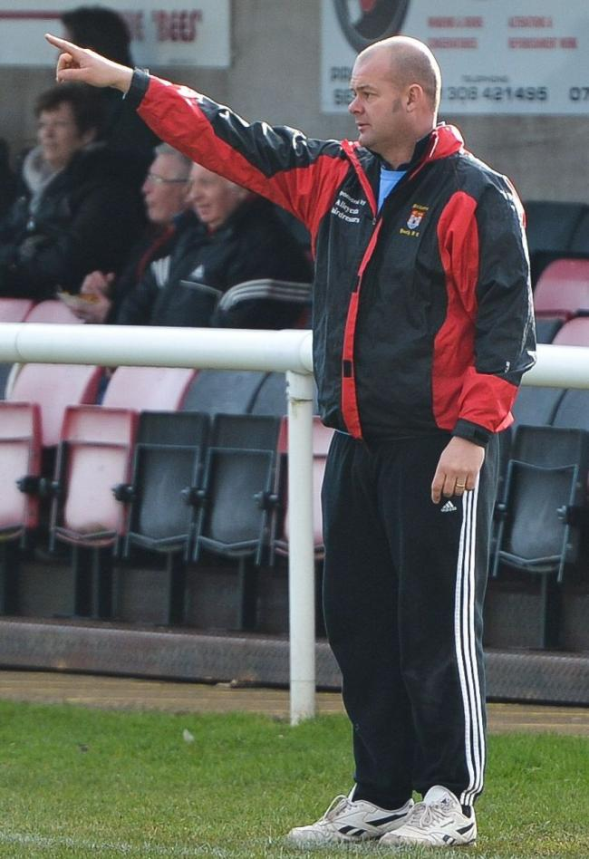 HAPPY MANAGER: Robin Townsend