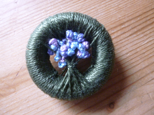 Dorset Button Posy Brooch Making Workshop
