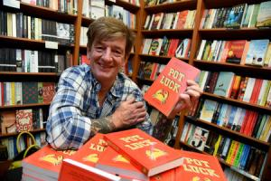 Bridport Waterstones, Nick Fisher signs copies of his book Pot Luck, 04/06/2016, PICTURE: FINNBARR WEBSTER/F18203.