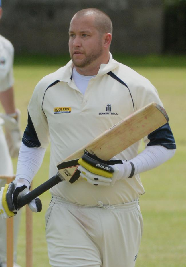 TOP KNOCK: Chris Park scored 81 not out