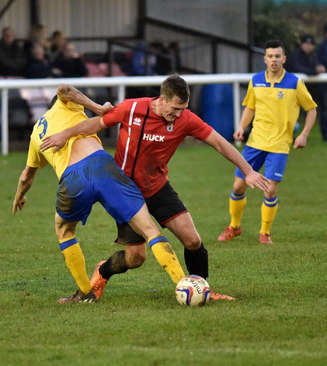 CRUCIAL ROLE: Striker Mark Salter needs support says assistant-manager Paddy Behan