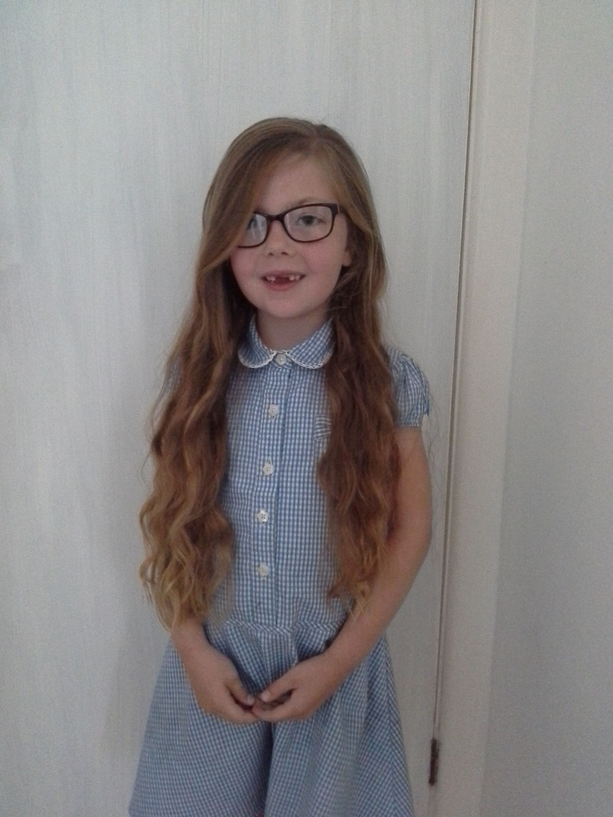 Six Year Old Girl Set To Lose Her 12 Inches Of Hair For Little Princess Trust Bridport And Lyme Regis News