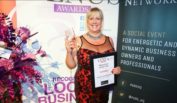 ACHIEVEMENT: Dawn Collingham won Networker of the Year 		 Picture: StudioShotz Photography