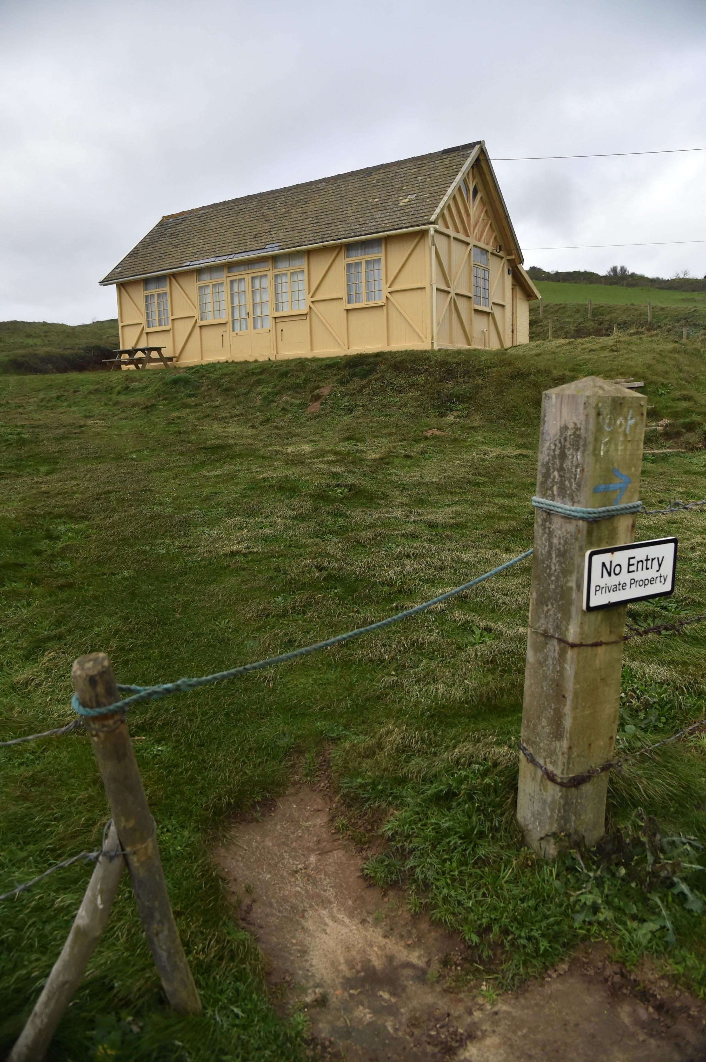 'Broadchurch' chalet set to become a home (after it is moved back from the clifftop)