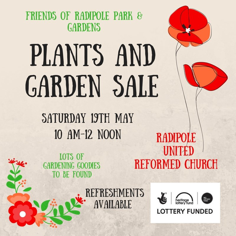 Friends of Radipole Park & Gardens; Plants and Garden Sale