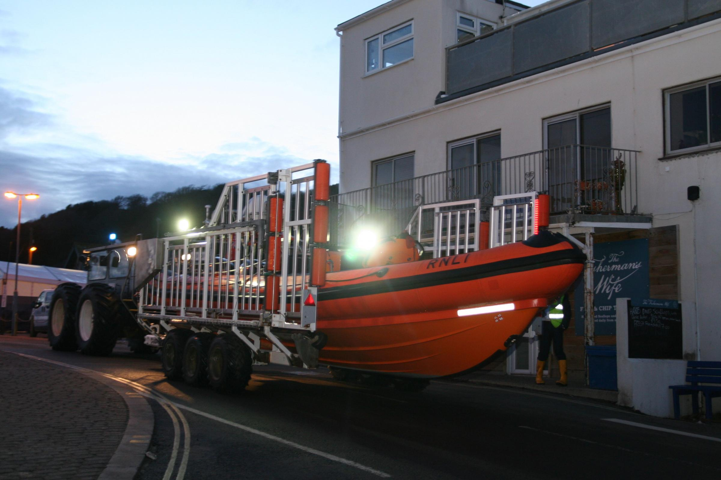 Lifeboat moves to new home
