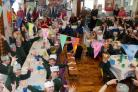 CELEBRATE: The school held a 50th birthday tea party at school, to celebrate being on this site for 50 years
