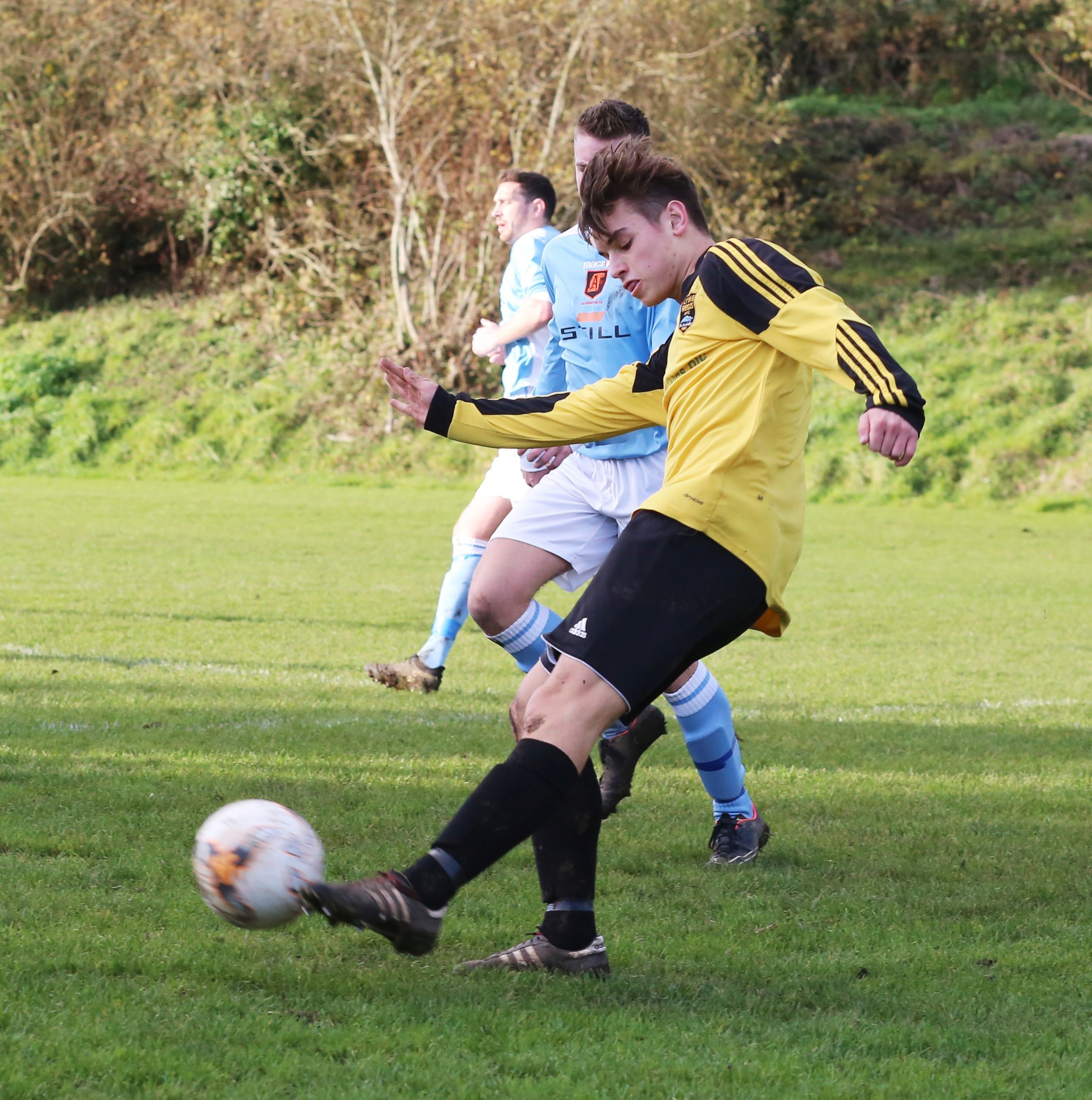 ASSIST: Cody Bowditch                                        Picture: MAISIE HILL