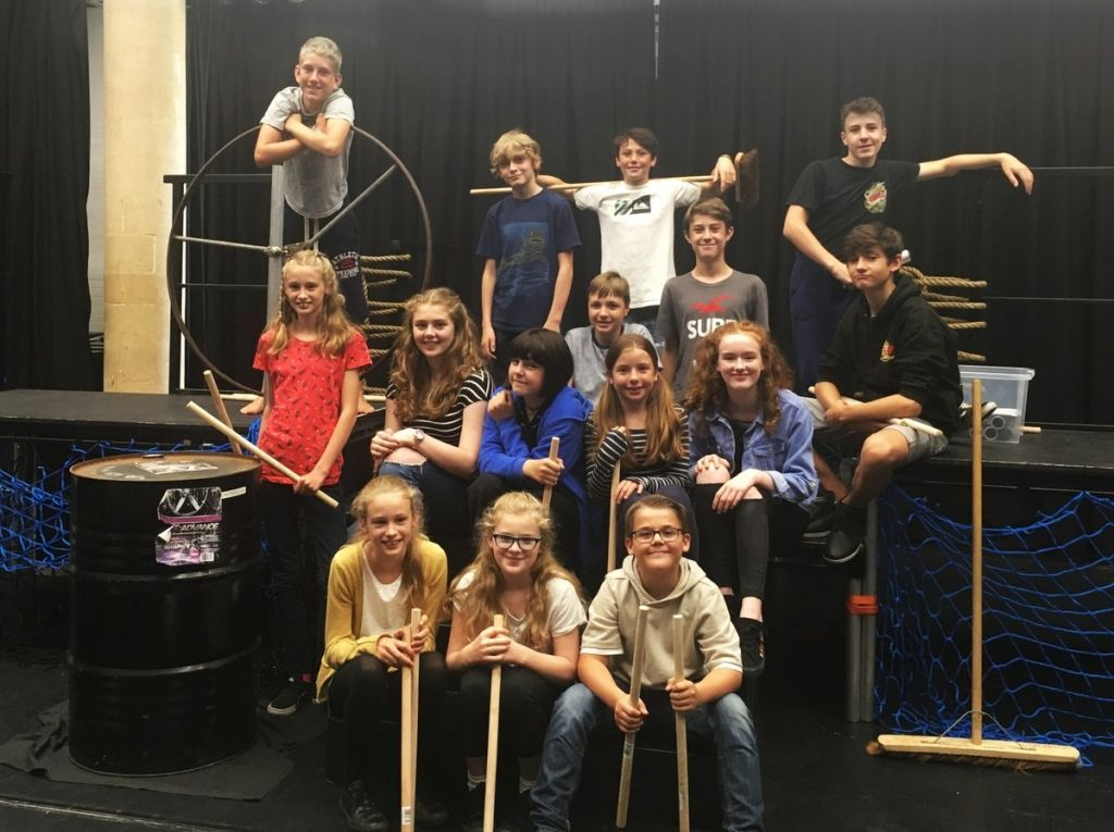 LIGHTS, CAMERA, ACTION: The new Marine Young Company set to start theatrics