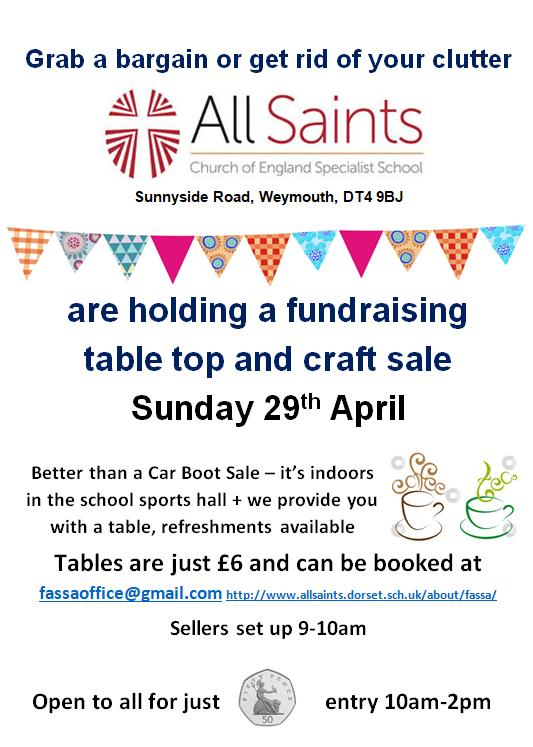 Table-Top and Craft Sale