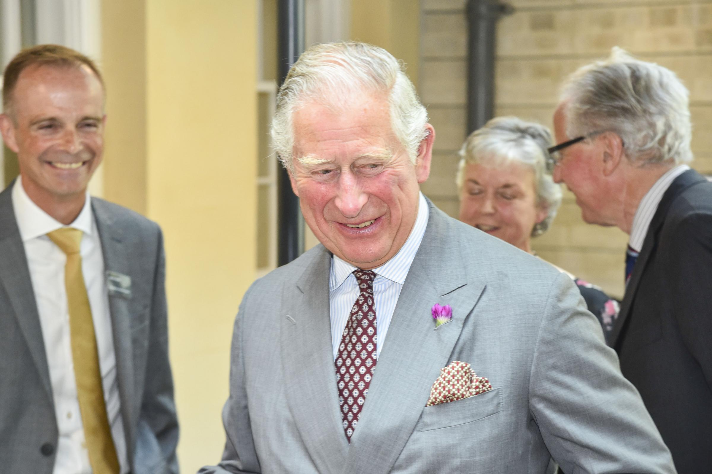 Prince Charles visited the LSI in Bridport