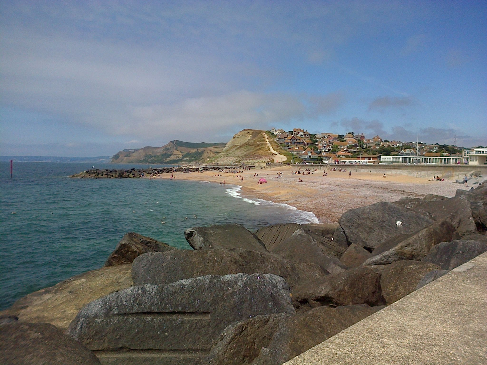 SUMMER TIME: Thanks to Cheryl Gaydon Chilton for this beautiful view of West Bay