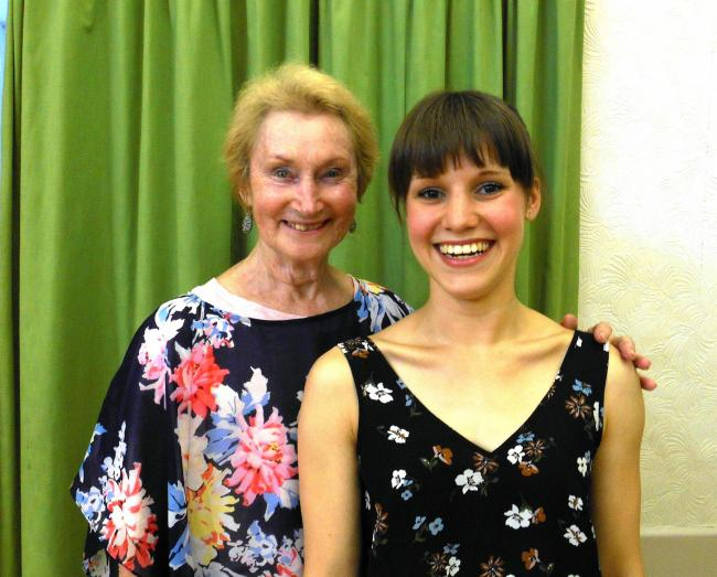 ALL CHANGE: Lyme School of Ballet founder Jill Chase has handed over the reigns of the dance school to former star pupil Freya Lovett